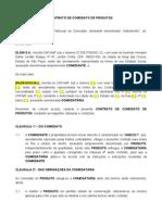 Contrato de Comodato de Produtos