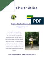 Epopees et Mythes Fangs du Gabon