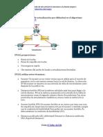 Algoritmo DUAL (actualización por difusión) - EIGRP