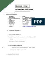 Diego Curriculum Vitae