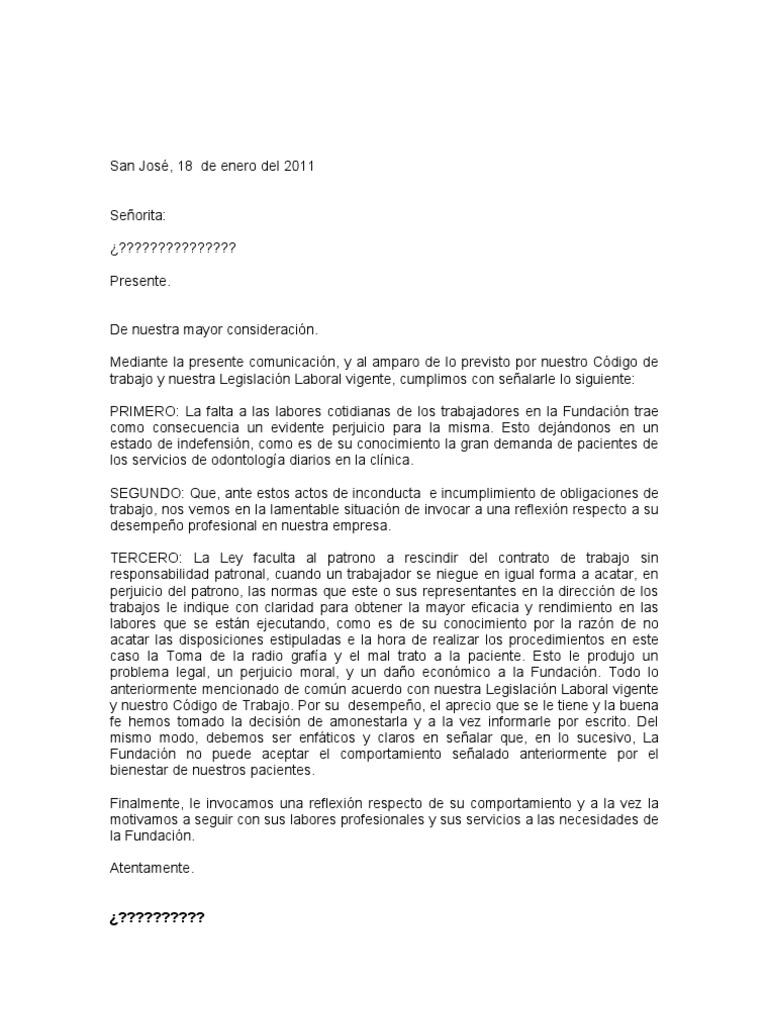 Vistoso Plantilla De Advertencia Verbal Composición - Ejemplo De ...