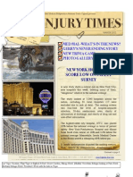 New Online Newsletter Now Available! NY Injury Times-March 2012