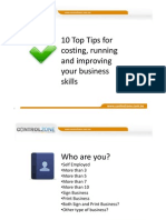 KIM 2010+10+Tips+of+Costing+&+Running+a+Profitale+Business+Download