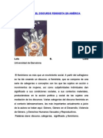 APUNTES SOBRE EL DISCURSO FEMINISTA EN AMÉRICA LATINA