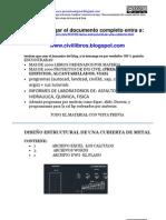 DISEÑO ESTRUCTURAL DE UNA CUBIERTA METALICAdocx