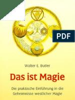 Butler, Walter E. - Das Ist Magie