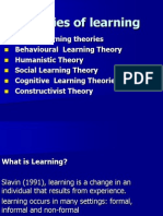 4.Theories of Learning