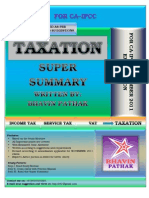 344363 829807 Revision Summary of Income Tax