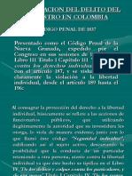 La Tipificacion Del Delito Del Secuestro en Colombia
