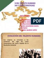 Evolución del Talento Humano