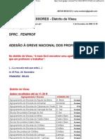 GREVE DOS PROFESSORES-NÚMEROS DIA 3 DEZEMBRO -