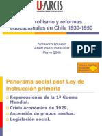 Clase 6 Desarrollismo y Reformas Educacionales en Chile