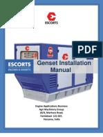Genset Installation Manual
