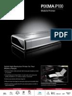 Printer Portable Canon iP100