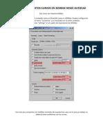 Importar Objetos Curvos en 3DSMax Desde AutoCAD