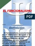 EL FUNCIONALISMO[1]
