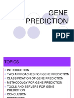 Gene Prediction Ppt