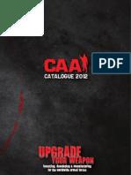 CAA Catalogue 2012