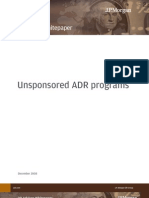 JP Morgan DR Whitepaper_Unsponsored ADR Programs