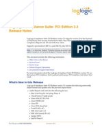 PCI Compliance Suite v3.3 Release Notes