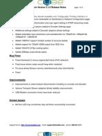 Teradek 5.1.0 Release Notes