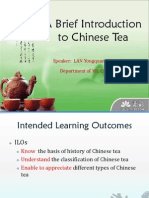 A Brief Introduction to Chinese Tea