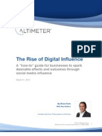 The Rise of Digital Influence