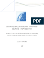 Überwachung von Softwarenutzung und Betriebsräte