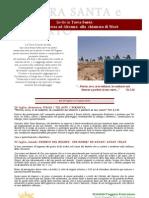 Terra Santa, pellegrinaggio, dal 29 luglio al 13 agosto 2012