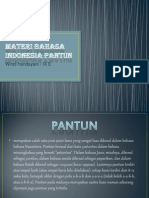 Materi Bahasa Indonesia Pantun