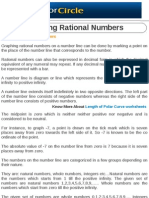 Graphing Rational Numbers