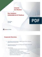 11 Star Solutions CDMA450 - Applications