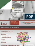 STKI 2012 Summit Presentation