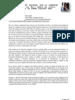 Comunicado sobre inicio de huelga de hambre de los compañeros Francico Jiménez y Eric Bautista 200312