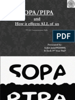 Sopa and How It Effects Us