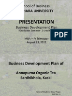 Binay BDP Presentation Aug 23