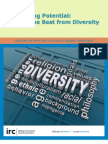 Managing Cultural Diversity in the Workplace