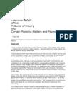 Mahon Tribunal Final Report 22 March 2012