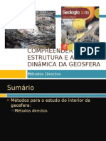 Power Point 2 (Tema 3) - Métodos Para o Estudo Do Interior Da Terra - métodos Directos