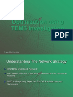 Drive Testing_using Tems Investogation