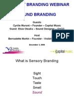 Visibility Branding Webinar Sound Branding
