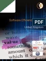 Software Efficiency Report-UK 2011