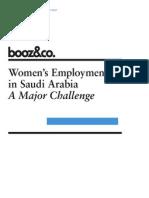 Womens Employment in Saudi Arabia