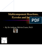 Anthony Crasto Multi Component Reaction, Pyrroles & Imidazoles