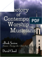 Directory of Contemporary Worship_Musicians -Update 3152012