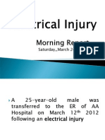 Electric Burn Injury