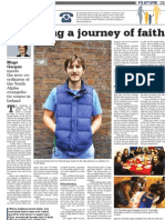 Youth Alpha Article in Irish Catholic - March 22