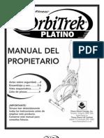Orbitrek Manual Del rio