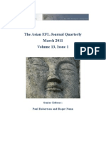 Asian EFL Journal