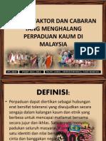 Faktor Penghalang Perpaduan Di Malaysia